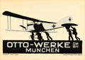 "Movie Posters:Miscellaneous, Otto-Werke (c. 1915). Advertising Poster (24"" X 34"") LudwigHohlwein Artwork.. ..."