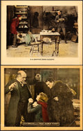 "Movie Posters:Drama, Broken Blossoms and Other Lot (United Artists, 1919). Lobby Cards (2) (11"" X 14"").. ... (Total: 2 Items)"