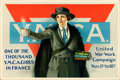 """Movie Posters:War, World War I Propaganda (Y.W.C.A., 1918). United War Work CampaignPoster (28"""" X 42"""") """"One of the Thousand,"""" Neysa McMein Art..."""