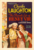 "Movie Posters:Drama, The Private Life of Henry VIII (United Artists, 1933). One Sheet(28"" X 41"").. ..."