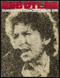 "Movie Posters:Rock and Roll, Bob Dylan European Concert Tour 1981 (Arena Merchandising, 1981).Program (24 Pages, 9.5"" X 12.5""). Rock and Roll.. ..."