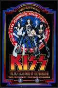 "Movie Posters:Rock and Roll, KISS: Reunion Tour (Beaver Production, 1996). Concert Poster (16"" X24""). Rock and Roll.. ..."