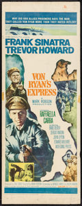 "Movie Posters:War, Von Ryan's Express (20th Century Fox, 1965). Insert (14"" X 36"").War.. ..."