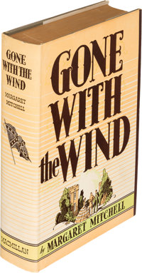 Margaret Mitchell. Gone with the Wind. New York: Macmillan and Co., 1936. First edition. Accord