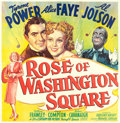 "Movie Posters:Musical, Rose of Washington Square (20th Century Fox, 1939). Six Sheet (79""X 80"").. ..."