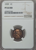 Proof Sets, Five-Piece 1939 Proof Set NGC. This set includes the following: cent PR64 Red and Brown; nickel Reverse of 1938 PR65; dime... (Total: 5 coins)