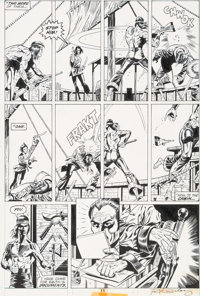 Paul Gulacy and Dan Adkins Master of Kung Fu #39 Page 11 Original Art (Marvel, 1976)