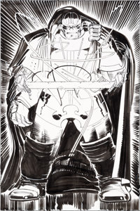 John Romita, Jr. and Klaus Janson Thor #21 Splash Page 16 Original Art (Marvel, 2000)