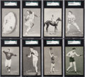 "Olympic Cards:General, 1948 W469 Exhibits ""Sports Champions"" Complete Set (32) PlusDempsey Color Variant. ..."