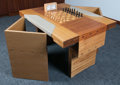 Miscellaneous Collectibles:General, 1972 Bobby Fischer vs. Boris Spassky World Chess Championship UsedChess Board....