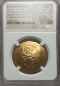 Ancients:Byzantine, Ancients: Alexius I Comnenus (1081-1118). AV hyperpyron (4.41 gm).NGC MS ★ 5/5 - 4/5....