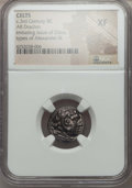 Ancients:Celtic, Ancients: DANUBE REGION. Imitating Alexander III the Great (ca. 3rdcentury BC). AR drachm. NGC XF....