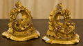 Decorative Arts, Continental, A Pair of Continental Rococo-Style Carved Giltwood Wall Brackets,19th century. 5-1/8 inches high x 5-3/4 inches wide (13.0 ...(Total: 2 Items)