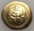 Ancients:Byzantine, Ancients: Constantine X (1059-1067). AV histamenon nomisma (4.31gm). Nearly EF...
