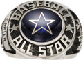 Baseball Collectibles:Others, 1980 Gary Carter All-Star Ring from The Gary Carter Collection....