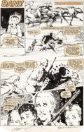 Original Comic Art:Panel Pages, Bill Sienkiewicz New Mutants #18 Story Page 21 Original Art(Marvel, 1984)....