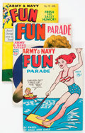 Magazines:Humor, Army and Navy Fun Parade File Copies Box Lot (Fun Parade, 1950s)Condition: Average VF....