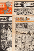 Memorabilia:Comic-Related, Robert Crumb, Spain Rodriguez, Vaughn Bodé, and others The East Village Other Group of approximately 300 (EVO,... (Total: 4 Items)