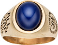 Autographs:Bats, 1983 Gary Carter All-Star Game Ring from The Gary CarterCollection....