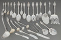 Silver Flatware, American:Gorham, Assembled Hundred-and-Twenty-Six Piece Gorham VirginianaPattern Silver Flatware Service for Twelve. The service... (Total:126 Items)
