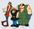 Animation Art:Color Model, The Thing Yancy Street Gang Color Model Cel (Hanna-Barbera,1979)....