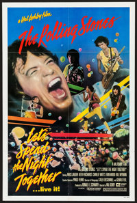 "Let's Spend the Night Together (Embassy, 1983). One Sheet (27"" X 41""). Rock and Roll"