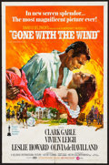 """Movie Posters:Academy Award Winners, Gone with the Wind (MGM, R-1970). One Sheet (27"""" X 41""""). AcademyAward Winners.. ..."""