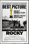 """Movie Posters:Sports, Rocky (United Artists, 1977). One Sheet (27"""" X 41""""). Sylvester Stallone's make-or-break shot at stardom came when he succeed..."""