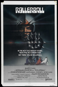"""Rollerball (United Artists, 1975). One Sheet (27"""" X 41""""). In a world controlled by corporations, a violent spo..."""