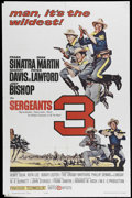 "Movie Posters:Adventure, Sergeant's Three (United Artists, 1962). One Sheet (27"" X 41"").Frank Sinatra, Dean Martin, Sammy Davis Jr., Peter Lawford a..."