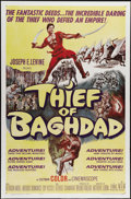 "Movie Posters:Fantasy, The Thief of Baghdad (MGM, 1961). One Sheet (27"" X 41""). Steve Reeves stars in this lush Italian film based loosely on the D..."