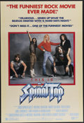 "Movie Posters:Comedy, This is Spinal Tap (Embassy Pictures, 1984). One Sheet (27"" X 41""). Rob Reiner's great spoof of the world of rock 'n' roll f..."