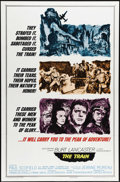 """Movie Posters:War, The Train (United Artists, 1964). One Sheet (27"""" X 41""""). JohnFrankenheimer directs Burt Lancaster and Paul Scofield in this..."""