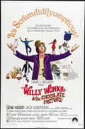 """Movie Posters:Fantasy, Willy Wonka & the Chocolate Factory (Paramount, 1971). OneSheet (27"""" X 41""""). Gene Wilder, Jack Albertson and Peter Ostrums..."""