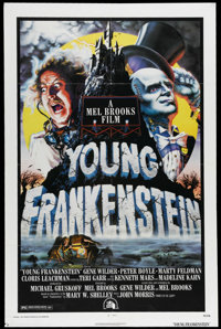 """Young Frankenstein (Universal, 1974). One Sheet (27"""" X 41""""). Gene Wilder wrote the script and stars in the cla..."""