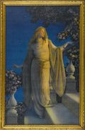Prints:American, MAXFIELD PARRISH (American 1870 - 1966). Enchantment, 1926. Periodprint on paper. 14 x 22.25in.(image size). Provenance: Pr...