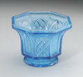 Art Glass:Other , AN AMERICAN GOTHIC ARCH LACY SANDWICH FLINT GLASS BOWL. Boston andSandwich Glass Works, c.1850. Possibly a sugar base wit...