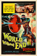 "Movie Posters:Science Fiction, World Without End (Allied Artists, 1956). One Sheet (27"" X 41"").. ..."