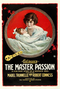 "Movie Posters:Drama, The Master Passion (K-E-S-E Service, 1917). One Sheet (28"" X 42"")....."