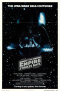 "Movie Posters:Science Fiction, The Empire Strikes Back (20th Century Fox, 1980). One Sheet (27"" X 41"") Advance.. ..."