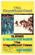 """Movie Posters:Western, The Magnificent Seven (United Artists, 1960). One Sheet (27"""" X 41"""").. ..."""