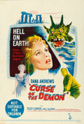 """Movie Posters:Horror, Curse of the Demon (Columbia, 1957). Australian One Sheet (27"""" X 40"""").. ..."""