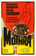 """Movie Posters:Science Fiction, Mothra (Columbia, 1962). One Sheet (27"""" X 41"""").. ..."""