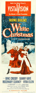 "Movie Posters:Musical, White Christmas (Paramount, 1954). Insert (14"" X 36"").. ..."