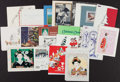 Baseball Collectibles:Others, Collection of Christmas Cards from The Stan Musial Collection. ...