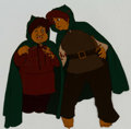 Animation Art:Production Cel, The Lord of the Rings Sam and Frodo Production Cel (RalphBakshi, 1978)....