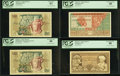 World Currency, Indonesia Bank of Indonesia 1952 Issues PCGS Graded and More.. ... (Total: 11 notes)