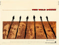"Movie Posters:Western, The Wild Bunch (Warner Brothers, 1969). Half Sheet (22"" X 28"")Howard Terpning Artwork.. ..."