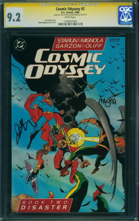 Cosmic Odyssey #2 (DC, 1988) CGC NM- 9.2 White pages