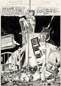 Original Comic Art:Splash Pages, Michael Kaluta House of Secrets #98 Splash Page 1 OriginalArt(DC, 1972)....